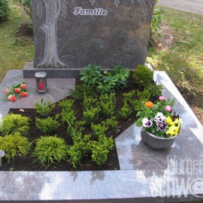 Grabpflege evangelischer Friedhof Sachsen bei Ansbach