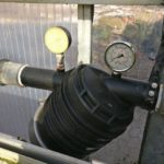 Wasserdruck 0 bar - die Leitung ist gerissen