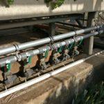 Magnetventilverteiler für die Ebbe-Flut-Bewässerung