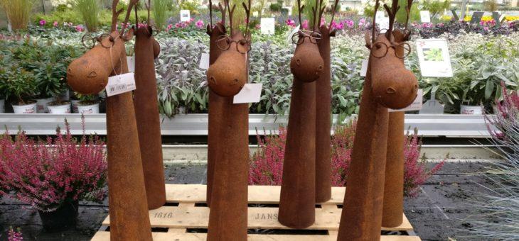 Gärtnerei im Verlauf des Jahres