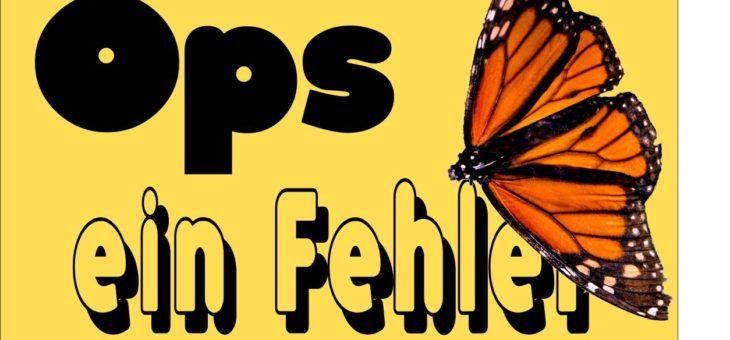 Schmetterlingshaus erst ab 26.06.17