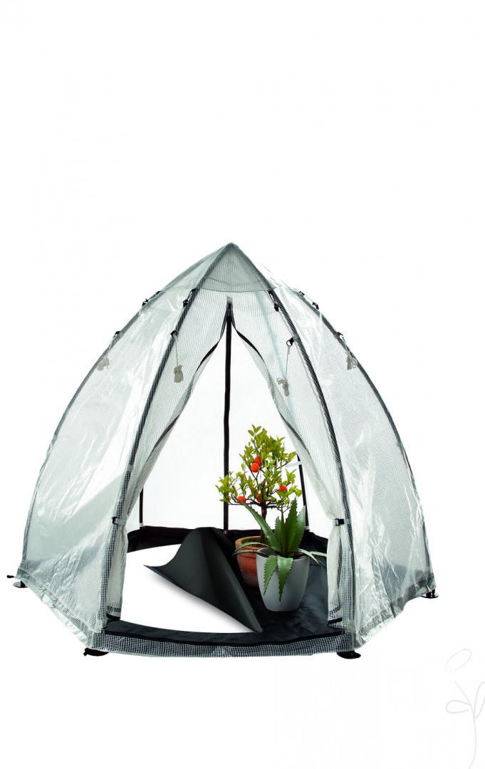 berwinterungszelt tropical island blumen schwarz. Black Bedroom Furniture Sets. Home Design Ideas
