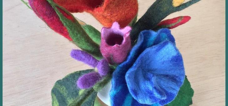 Blütenfilzkurs