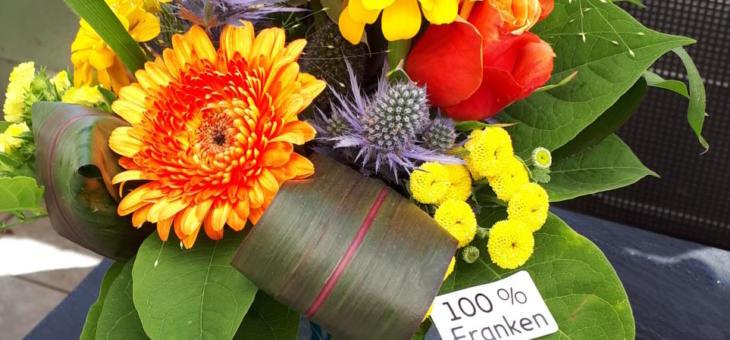 Blumensträuße – 100% Franken