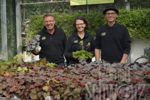 Heino, Annette und Lukas Schwarz