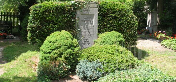 Grabpflege 2019 – unser Jahresrückblick
