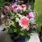 Ein 100% Franken Strauß. Rosen aus Schwabach, die restlichen Blumen und das Grün aus der eigenen Gärtnerei