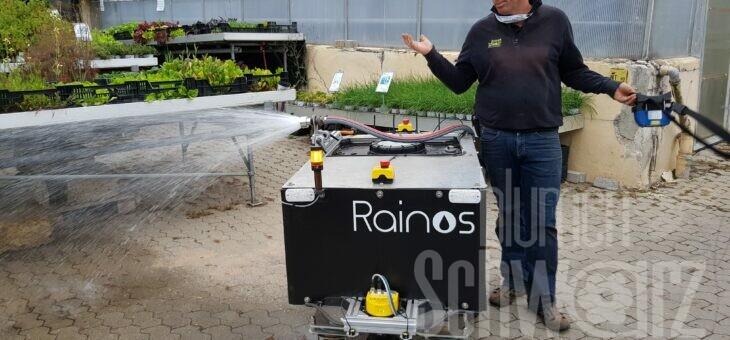 Gießroboter – das Aus für unseren Wasserwilli in Schwabach
